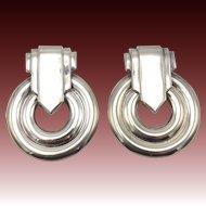 Silver Statement Earrings by Carlotta Bijoux
