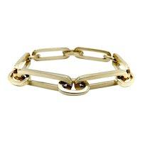 14K Signature Paperclip Link Bracelet
