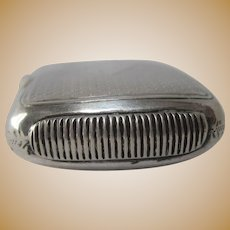George Unite English Sterling Silver Match Safe or Vesta