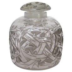 "R. Lalique ""Epines"" Perfume Bottle circa 1920"
