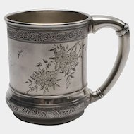 Aesthetic Movement Gorham Sterling Silver Mug