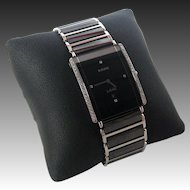 Rado Jubilé Watch with 46 Round Cut Diamonds