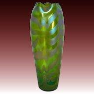 Loetz Iridescent Phaenomen Genre Art Glass Vase