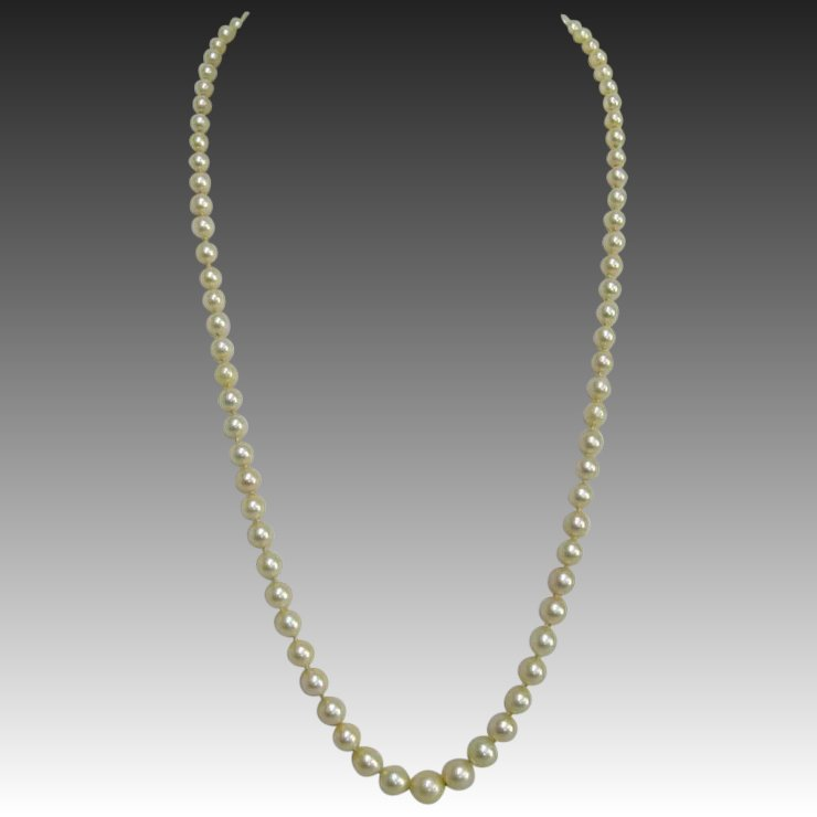 pearl akoya mikimoto pp z diamond products necklace gold flower rose d