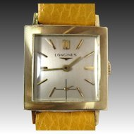 Vintage 14k Gold Longines Swiss Made Yellow Wristwatch