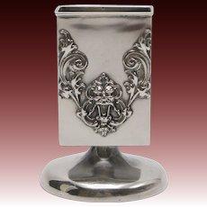 Willian Kerr Sterling Silver Art Nouveau Match Holder