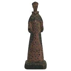 Handmade Santo Sculpture