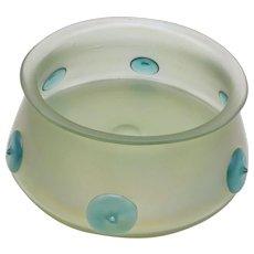 Loetz Orpheus Bohemian Glass Bowl