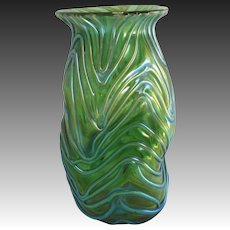 Loetz Formosa Crete Miniature Vase, 1902
