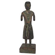 Wooden Saint, Santo Sculpture