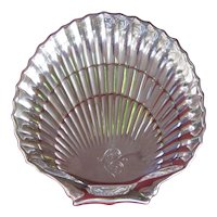 A Pair of Gorham Sterling Silver Scallop Shell Shaped Dishes