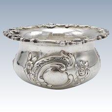 Hanau British Import Sterling Silver Salt Cellar