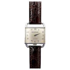 Vintage Hermes Jaeger-LeCoultre Drivers Watch
