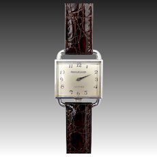 Vintage Jaeger-LeCoultre Drivers Watch by Hermes