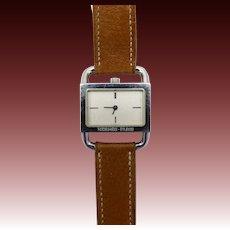 Vintage Etrier Watch by Hermes, Paris