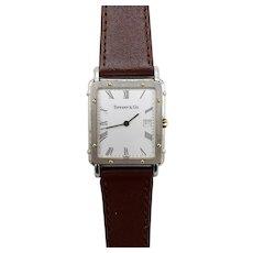 Vintage 18KT Gold Tiffany & Co Quartz Watch