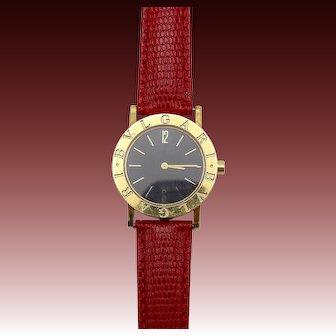 Vintage Bvlgari 18KT Yellow Gold Watch