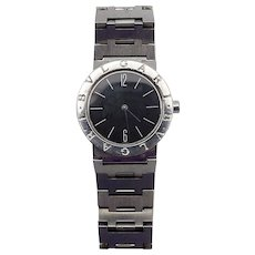 Vintage Stainless Steel Bvlgari Watch