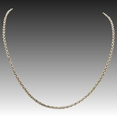 Victorian Cable Link 9KT Yellow Gold Chain