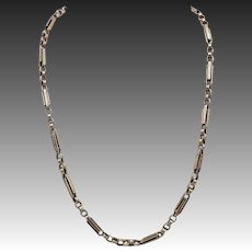 10KT Rose Gold Victorian Necklace