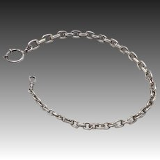 Victorian Era Sterling Silver Chain