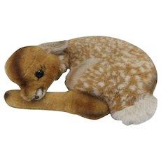 Vintage Steiff German Sleeping Fawn