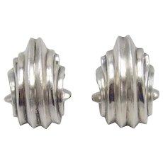Von Musulin Sterling Silver Vintage Earrings