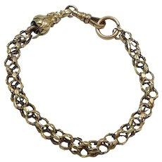 12KT Gold Victorian Watch Chain