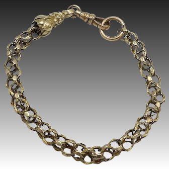 12KT Gold Victorian Watch Chain
