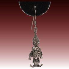 Vintage Ghanian Harlequin Earrings
