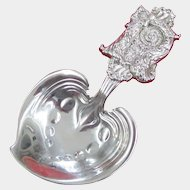Tiffany & Co. Sterling Silver Nut or Bon Bon Scoop, circa 1890s