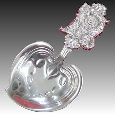 Tiffany & Co. Sterling Silver Nut or Bon Bon Scoop, circa 1890s