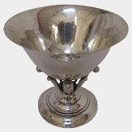 """Georg Jensen Sterling Silver Compote """"17A"""""""