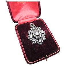 Gorgeous Victorian Diamond Pendant Necklace