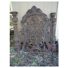 Iron Gate dated 1862