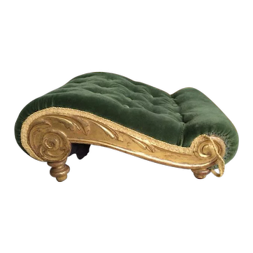 19th c. French Gout Stool