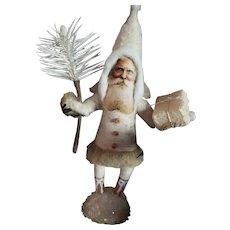 Artist Made   Cotton Santa Christmas Decoration