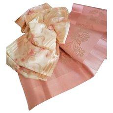 2 Wonderful Silk Ribbons for Doll Display