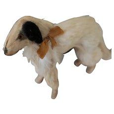 Tiny Borzoi Dog for Doll Display