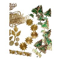Collection of Gold Decorations for Doll Projects