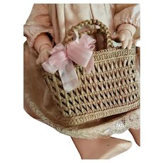 Woven Basket for French Fashion or Small Bebe