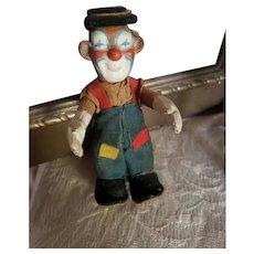 """4 3/4"""" Steiff Clownie Clown"""