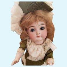 "9 1/2"" German All Bisque Bare Foot Doll by Kestner"