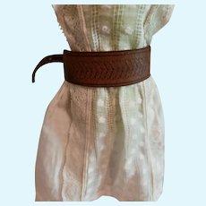 Doll Leather Adjustable Leather Belt