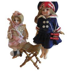 Doll House Size Stool for Luggage or Sitting