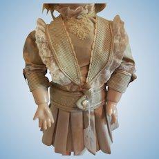 """Artist Made Dress for 15-16"""" Bebe"""