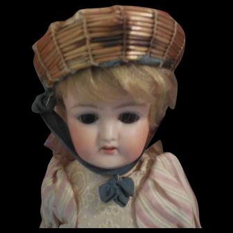 "Little Borrelet Cap for 7"" Doll Head Steiner, Jumeau Bebe"