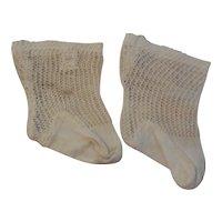 """3"""" Long Jumeau Style Socks"""