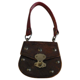 """1 3/4"""" French Fashion Purse with Metal Decorations"""