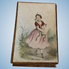 Box with Early Lady Picture